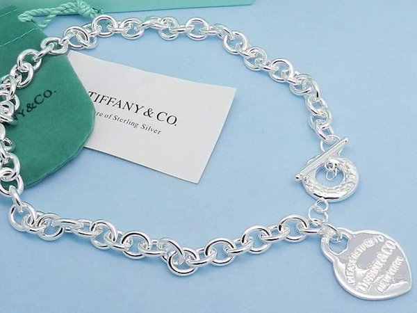 Quality Celebrity design Silver Ball Clover necklace Silverware Metal Heart-shaped Pendant necklace Jewelry With Box