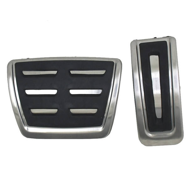 Car styling Sport Fuel Brake Pedal Cover For VW Polo Bora Lavida Jetta MK4 Golf MK4 For Skoda Auto Accessories
