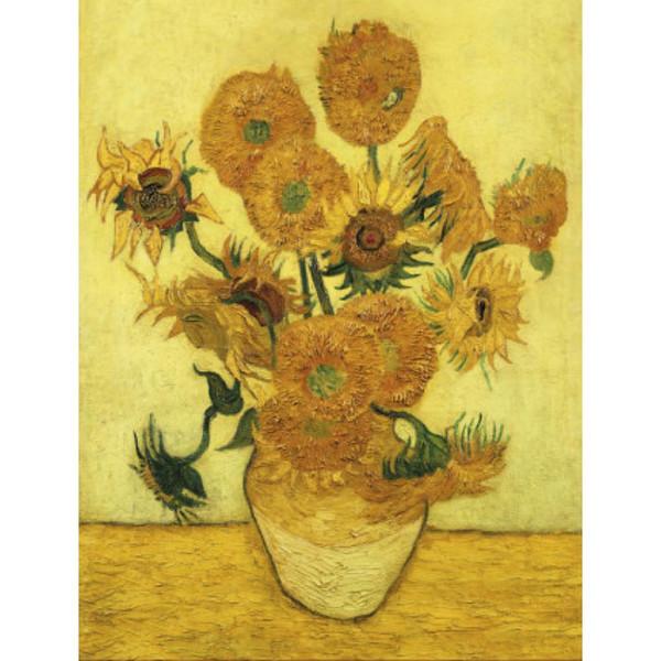 Duvar Sanat Yağlıboya Ayçiçekleri ünlü Vincent Van Gogh yapıt Tuval El boyalı