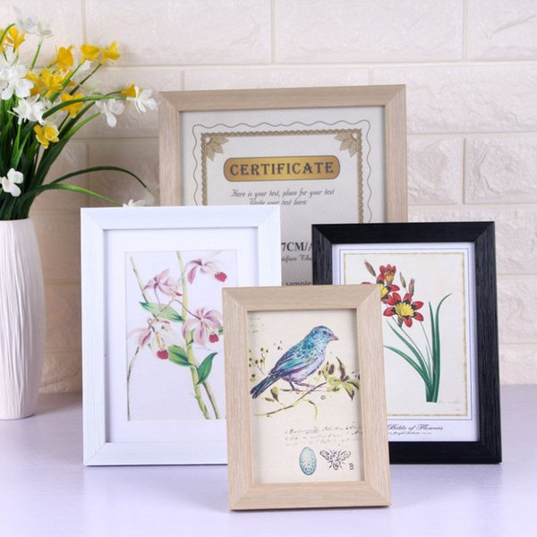 6*8/8*10 inch Picture Frame Photo Frame Poster Wall Decor Black And White Photo Home Room Decor 2018 New