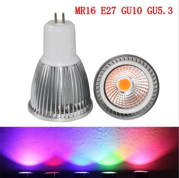 5W led light bulbs E27 GU10 GU5.3 MR16 led lights AC85-265V Led Spot Light bulbs Spotlight Bulb Downlight Lighting
