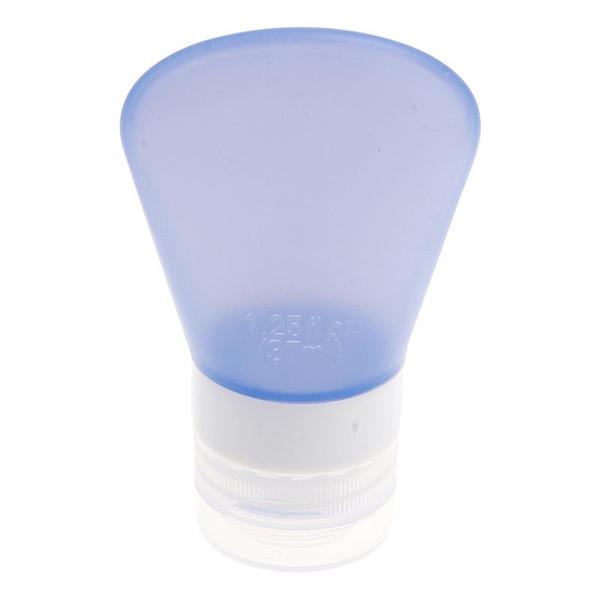 Al por mayor-Silicone Travel Bottles Shampoo Gel de ducha Loción Sub-embotellamiento Tube Squeeze Tool 37ml # 72205