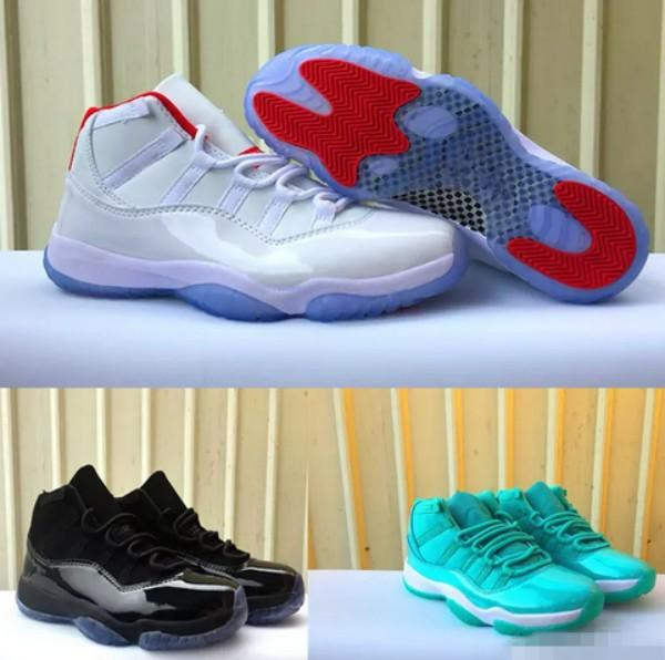 2018 New XI 11 White Red Bright Black Gamma Ice Blue Sports Basketball  Shoes for Men Women High 11s Trainers Athletic Designer Sneakers 5-13 767298eca
