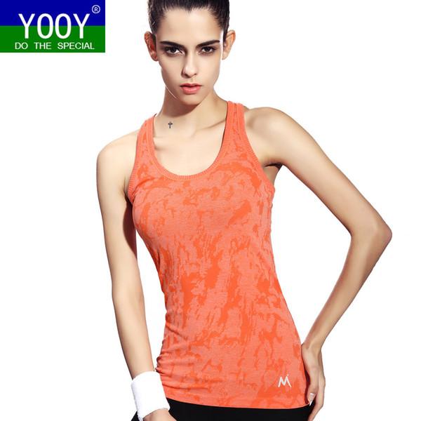 Frauen Yoga Shirts Bekleidung für Sport Fitness ärmelloses T-Shirt Damen Gym Running Frauen schnell trocknend Tees Female Yoga Tops Vest
