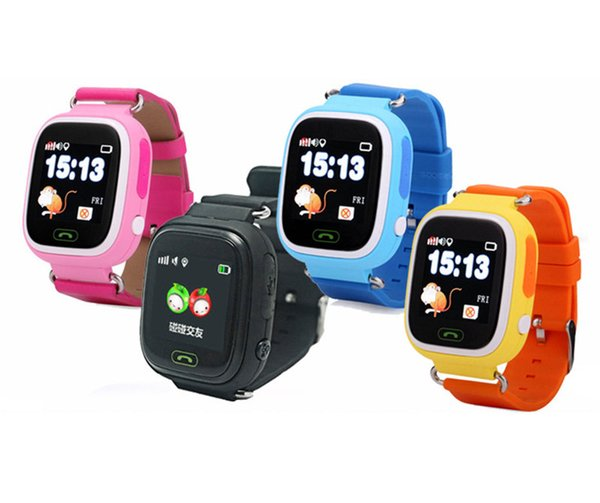 Q90 Bluetooth Smartwatch with GPS WiFi LBS for iPhone IOS Android Smart Phone Wear Clock Wearable Device Smart Watch 5 Colors