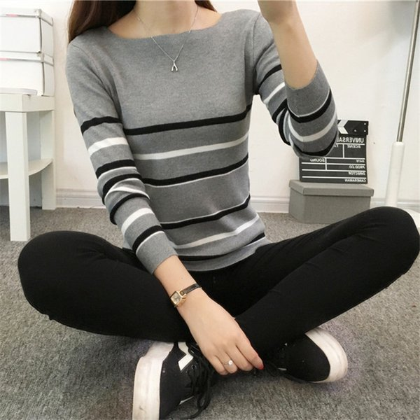 Cheap wholesale 2018 new autumn winter Hot selling women's fashion casual warm nice Sweater Y5858