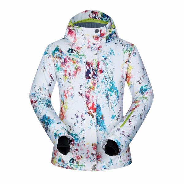 Großhandel Hohe Qualität Snowboard Jacken Frauen Ski Jacke Unterwäsche Skifahren Winddicht Wasserdicht Atmungsaktive Ski Snowboard Mäntel Thermische