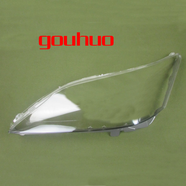 transparent lampshade lamp shade front Headlight shell headlight cover glass lens for 09-11 Lexus ES240 ES350 2pcs