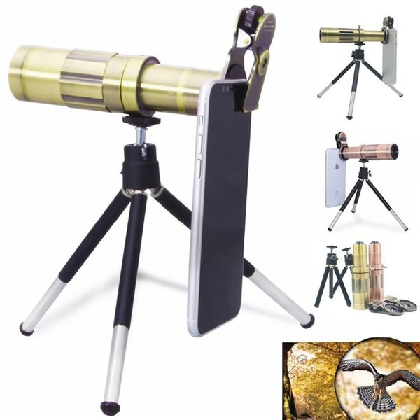 HX-2006 Mobile Phone 20x Telescope Camera Zoom optical Cellphone Telephoto Lens For iphone samsung oppo vivo xiaomi