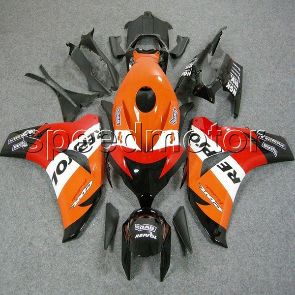 23colors+Gifts Injection mold repsol motorcycle cover Fairing for HONDA CBR 1000 RR 2008 2009 2010 2011 ABS plastic kit