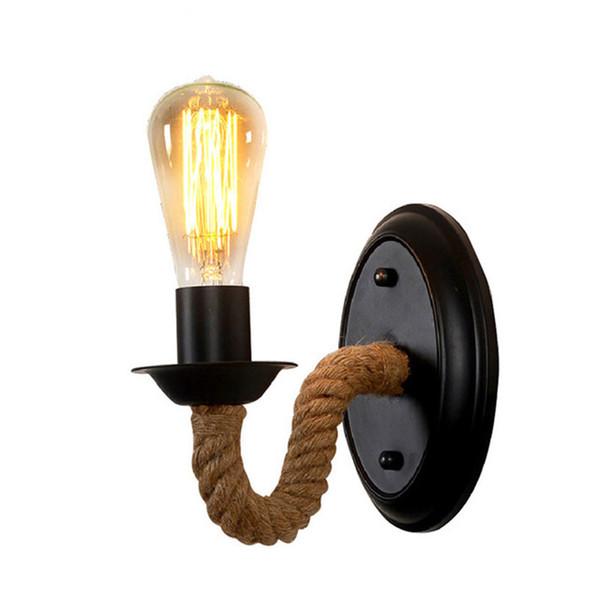 Américaine Applique Campagne Fer Art Escalier Allée Lampes Du FriedDhgate Et com Chevet Rétro Corde Lanternes50 92 Mur De Acheter Lampe XuPkZi