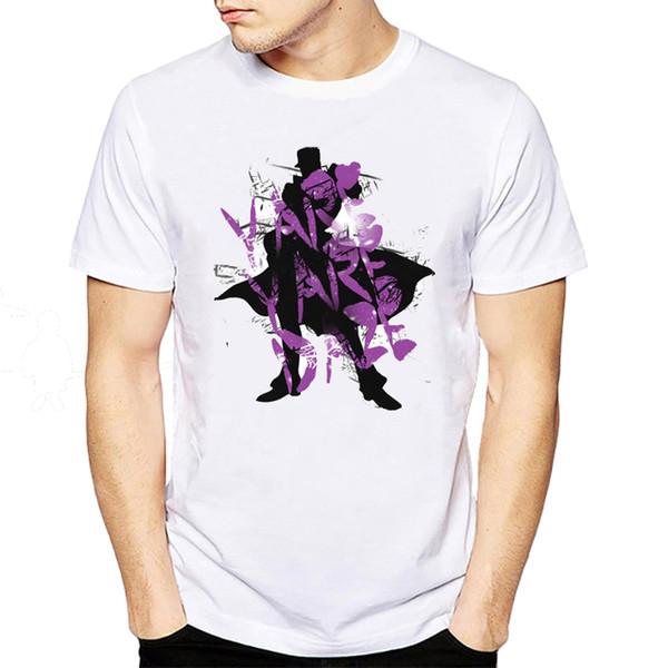 Moda Yare Daze Letters Men T-shirt de manga corta para hombre Camisetas impresas Casual Funny Tops