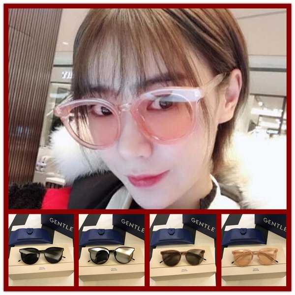 M086423 Beliebte Mode Sonnenbrillen Luxus Frauen Marke Designer Cat Eye Sommer Stil Full-Frame Top Qualität UV Schutz Mischfarbe gekommen