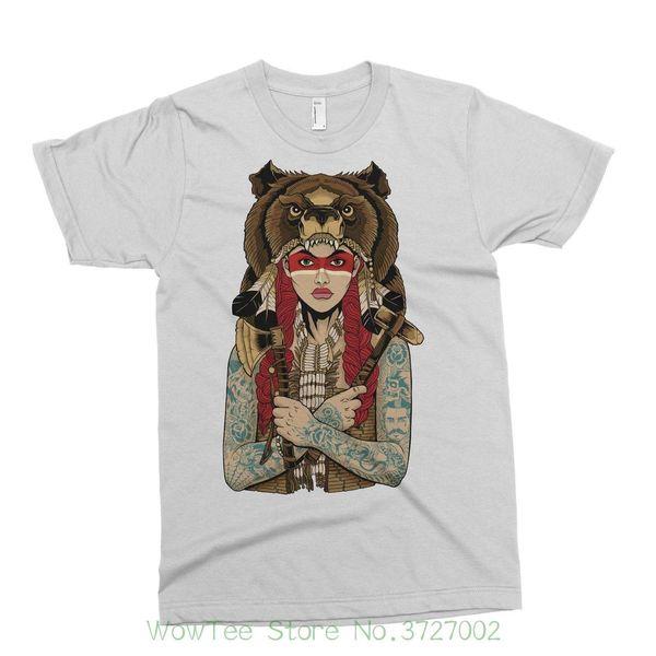 191763325 Nativo Lupo T-shirt Tattoo Alternativa Goccia Dead Abandon Nave Ark Rebel  Circo T Shirt