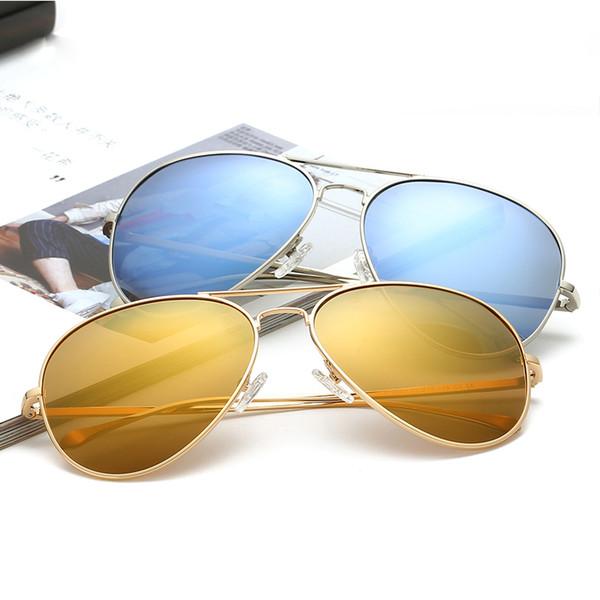 2018 Popular Nuevo Clásico Polarizado Conductor Gafas de sol Gafas Hermosas Adumbral Multi colores Brillantes gafas de sol femeninas
