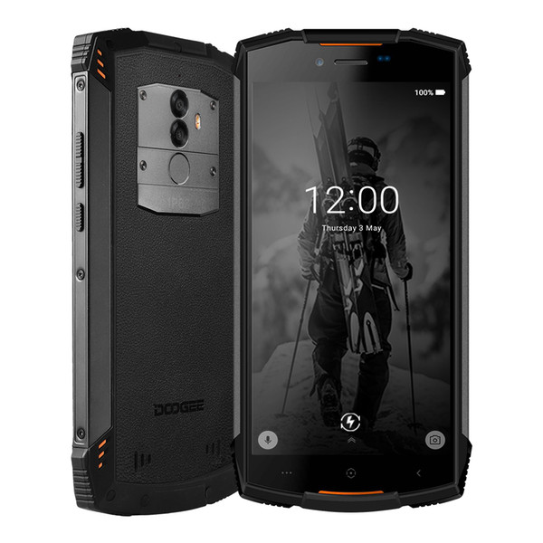 """DOOGEE S55 4GB 64GB IP68 Waterproof 5.5"""" HD+ Cell Phone Android 8.0 Octa Core13MP Camera 5500mAh 5V2A Quick Charger Smartphone"""