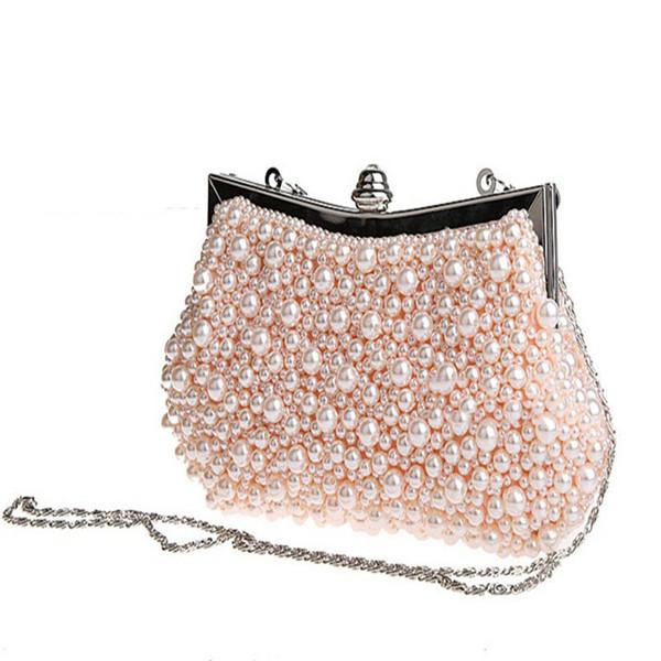 2017 nuova moda vintage in rilievo borsa da sera borsa ricamata diamante paillettes frizione mano sposa spedizione gratuita WY66