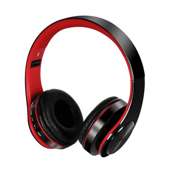 Casque sans fil Bluetooth V4.2 Casque sur oreille support Carte TF avec microphones pour téléphones portables / MP3 / MP4 / Ordinateurs