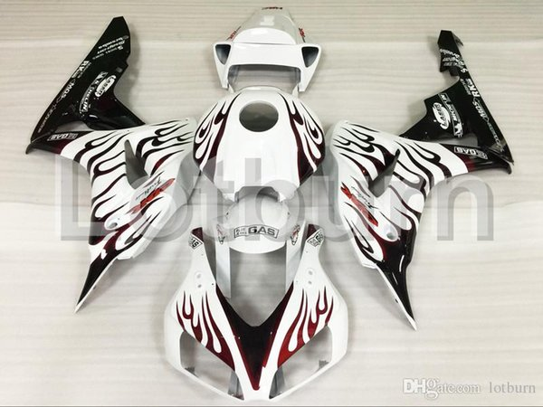 Plastic Fairing Kit Fit For Honda CBR1000RR CBR1000 CBR 1000 RR 2006 2007 06 07 Fairings Set Custom Made Motorcycle Bodywork A544