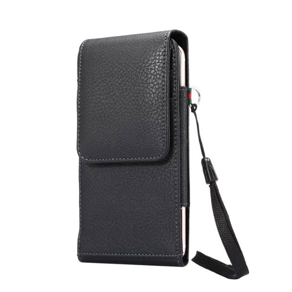 Verticial Rotary Belt Clip Strap Leather Mobile Phone Case For Huawei P Smart+ (nova 3i),Mate 20 Lite,Honor Play,Honor 8X