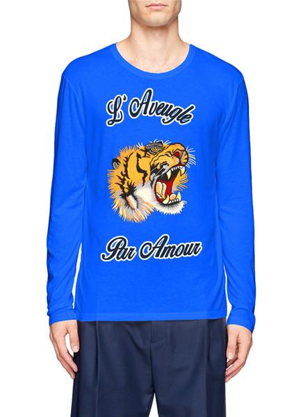 2018 boys' long-sleeve t shirt korean version trend leisure fashion comfort fashion base shirt web celebrity style thumbnail
