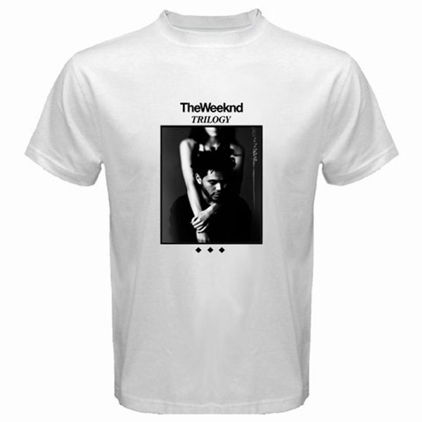 New The Weeknd Trilogy Album Cover XO Men's White T-shirt Size S M L XL 2XL 3XL Funny free shipping Unisex Casual gift