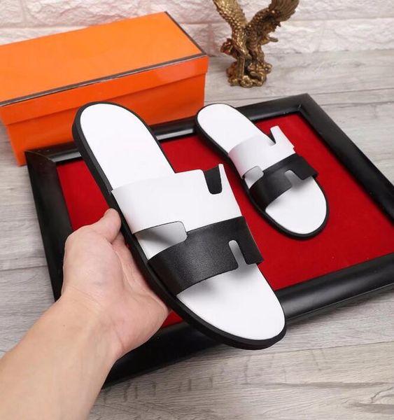 Chegada nova Homens de Verão chinelos de Marca designer de chinelos Sandálias de Praia Não-deslizamento Masculino Chinelos Zapatos Hombre Sapatos Casuais