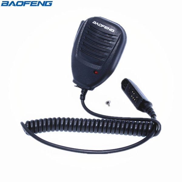 Baofeng UV-9R Wasserdichtes Mikrofon für Baofeng UV-XR A-58 UV-9R Plus-GT-3WP UV-5S Retevis RT6 Wasserdichtes Walkie Talkie