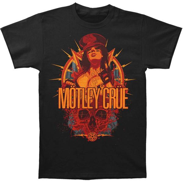 921a828c4 Camiseta Motley Crue MC para hombre, camiseta Slim Fit XX-Large Black