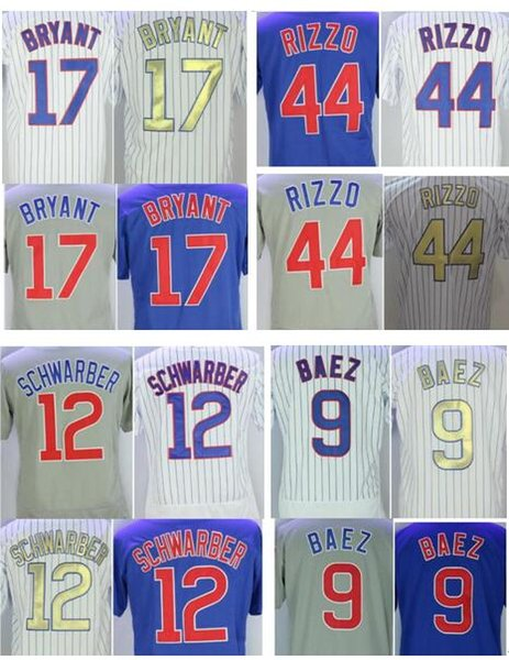 1c6e6ff19 ... Schwarber 100% stitched jerseys free shipping. Men women youth kids  Chicago 9 Javier Baez 17 Kris Bryant 44 Anthony Rizzo 12 Kyle