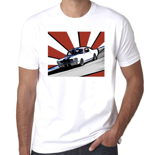 Details zu Shelby Mustang 350gt rising sun design mens 100% cotton T-shirt Funny free shipping Unisex Casual