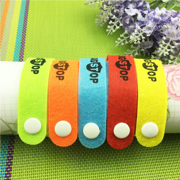best selling 800pcs Mosquito Repellent Band Bracelets Anti Mosquito Pure Natural Baby Women and Men Insect Repellent Wristband QW004