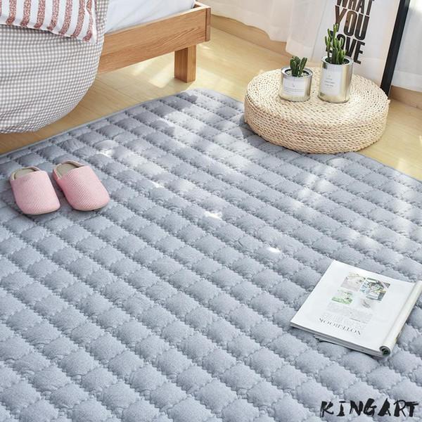 Grosshandel Waschbar Baumwolle Baby Oder Neugeborenen Nacht Teppich Kinder Bodenmatte Kinderzimmer Dicke Decke Baby Schlafzimmer Teppich Und Teppiche