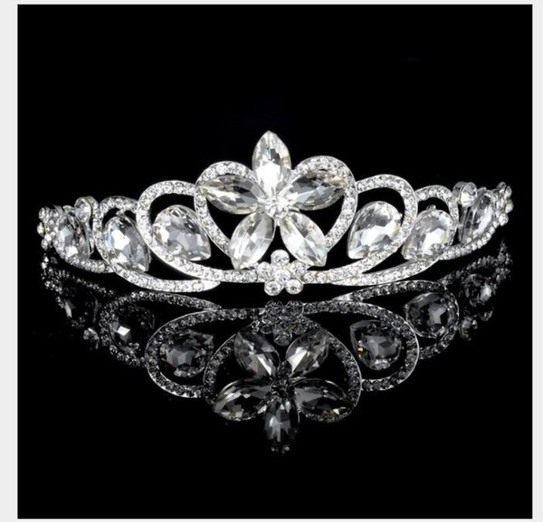 Ornamenti nuziali, corone europee e americane, spose di diamanti, copricapo da sposa, corona esplosiva.