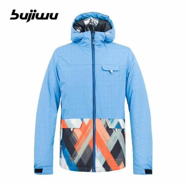 Free Shipping 2018 Men's Ski Jacket Outdoor Waterproof Windproof Snowboard Jacket Skiing Coat Winter Snow Snowboard Coat for Men