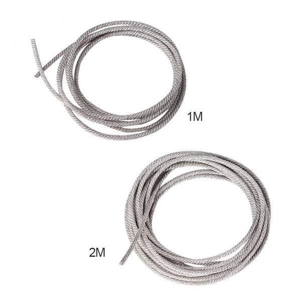 repair speaker 32 Strands 1M 2M Subwoofer Cable High Temperature Resistant Twisted Silver Wire Speaker Lead Wire Repair