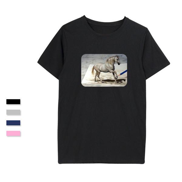 SMZY Stereograph T-shirt Men Vogue Soft Funny Tshirt Men Cotton Short Sleeve Comfortable Tshirt 2018 Casual Cool Tee Shirts