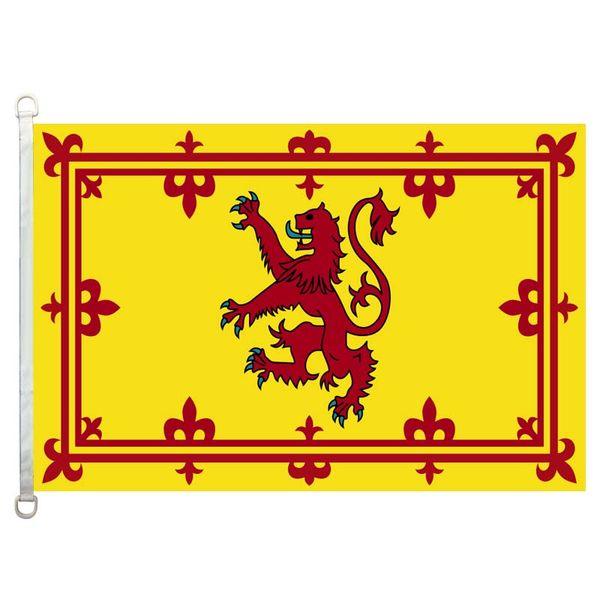 Bandeira Da Bandeira 3x5FT-90x150cm Lionrampant 100% Poliéster, 110gsm Urdidura Malha Tecido Bandeira Ao Ar Livre