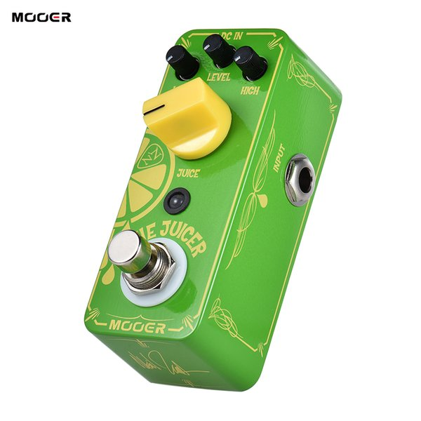 MOOER THE JUICER Overdrive Guitar Effect Pedal True Bypass with Neil Zaza Signature