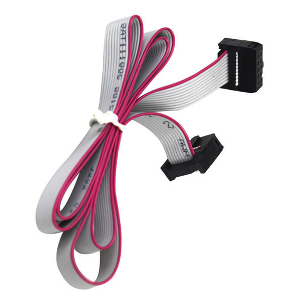 10P 60cm 12864 LCD 2004 LCD Extension Cable MKS Prusa Ramps RepRap Anet I3 FT5 3D 10pin Flat Ribbon Date Cable Lead Wire