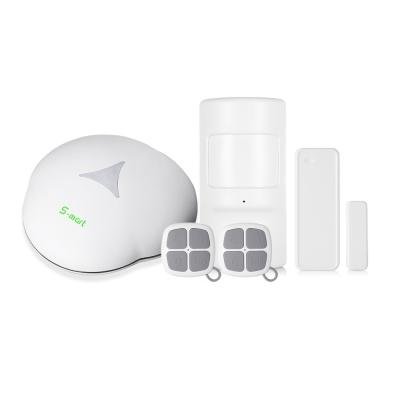 GS - S3 GSM Home Security Alarm System with Remote Control Motion Sensor wireless smart home WIFI/PSTN alarm system