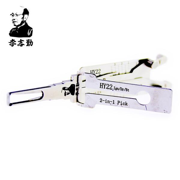 Herr Li's Original Lishi HY22 2in1 Decoder und Pick - Beste Automotive Locks entsperren Tools auf dem Markt
