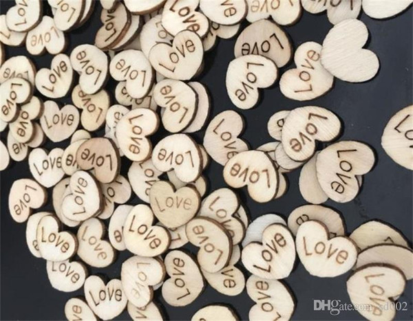 Patch Wedding Decoration Wooden Love Heart Shape Cartoon Children Diy Hand Drawing Plaques Art Craft 1 96xp gg