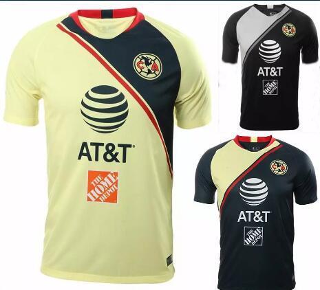 Tamanho S-XXL 2018 LIGA MX Club América camisas de futebol longe de casa 18 19 O.PERALTA I.RENATO C.DOMINGUEZ MATHEUS camisa de futebol do México