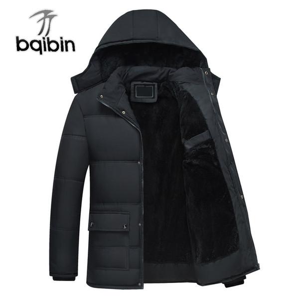 New Winter Jacket Men -20 Degree Thicken Wram Men Parkas Fleece Windproof Outwear Jackets Hooded Overcoat