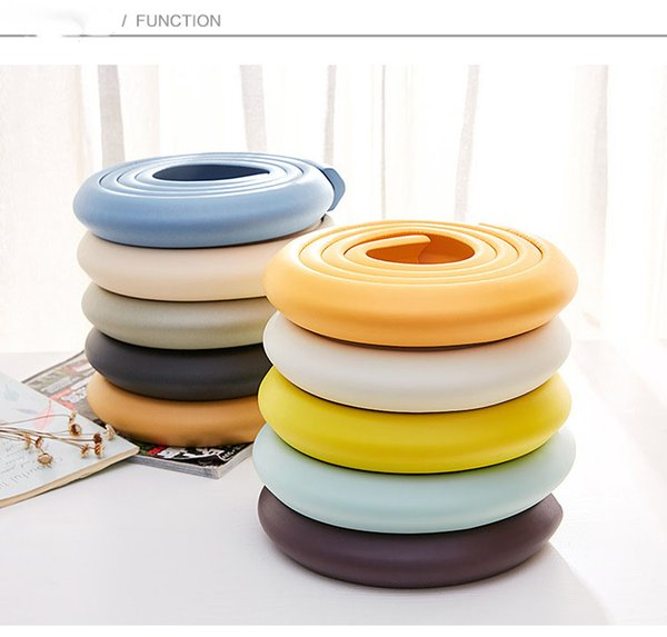 top popular New Arrival Hot Soft Child Protection Corner Protector Baby Safety Guards Edge & Corner Guards Solid Angle Form Single Loaded 2021
