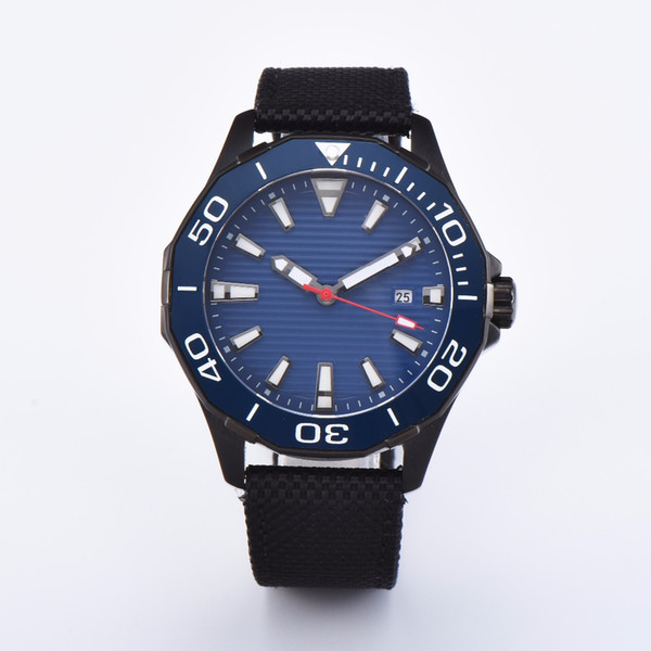 CORGEUT Sapphire Crystal Bezel Blue Dial 45mm Illuminated Date PVD Deluxe Miyota 8215 Automatic Winding Men's Watch C10