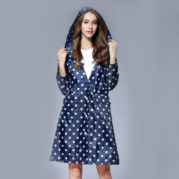 Girl Lady Hooded Raincoat Outdoor Travel Waterproof Riding Cloth Rain coat for Women Poncho Long Rainwear raincoat jacket