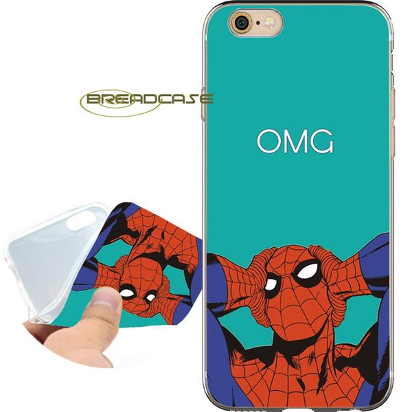 coque iphone 6 spiderman