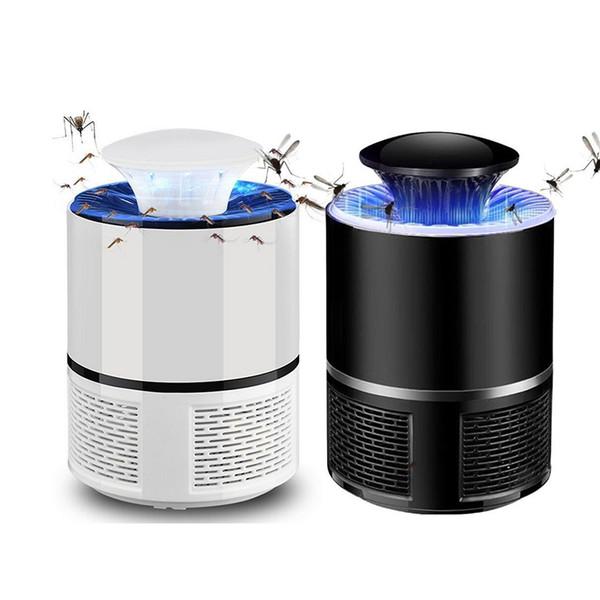 Убийцы москита Сид свет лампы с USB анти летать москитная электрические лампы дома светодиодные вредителями Заппер отпугиватель комаров убийца насекомых ловушка лампа
